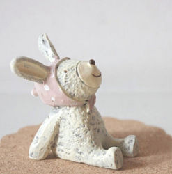 Mestiere bello di arte della resina del coniglio della resina