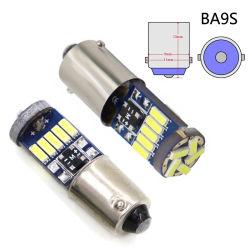 2pc Ba9s LED-Lampe T4W 15 SMD 4014 LED-Leuchte Auto-Markierungsleuchte Leseleuchte Innenraum Reverse Auto Parken Glühlampen 12V