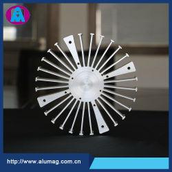 Het LEIDENE van de Legering van de Uitdrijving van het aluminium Profiel van Heatsink, Elektronische Componenten