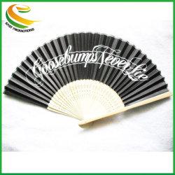 ventilator van de Hand van het Bamboe van het Ontwerp van de Douane van 21cm is de Eigen de Ambachten van Giften voor Verkoop