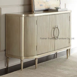 Отель современный итальянский дизайн консольного стола твердых древесины из дуба кабинет со стороны отеля шкаф для хранения полуострова гостиниц шкаф для хранения мебели