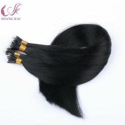 Micro perles de longue durée d'extension de cheveux humains pointe en plastique dur Nano Ring Extension de cheveux
