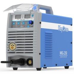 Gmaw multifunción 5 en 1 IGBT 1pH 220V/Gasless gas CO2/MMA/Levante TIG/MIG/MAG 250 Amp Máquina de soldar Inverter portátil
