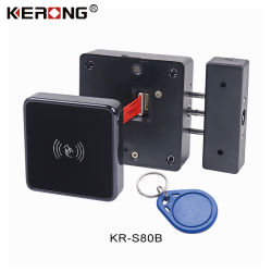 KERONG 사무실 서류정리 서랍 체조 수영풀 로커를 위한 지능적인 전자 안전 RFID 카드 판독기 내각 로커 자물쇠