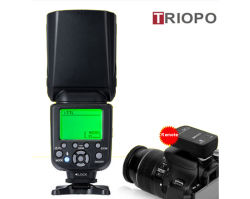 2.4G-982Triopo Tr III 1/8000HSS sans fil S-Master flash Speedlite flash TTL pour Nikon, appareil photo Canon