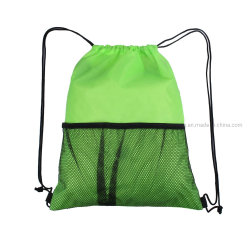Оптовая торговля сетка кулиской спорта на открытом воздухе складывания назад Pack Bag