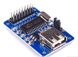 CH375B Module de disque USB Host Serial Bus de données de lecture/écriture Arduino