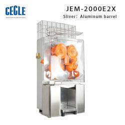 상업적인 자동적인 주황색 Juicer 기계, 과일 주스 갈퀴 기계, 산업 직업 주스