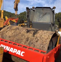 Используется дорожной техники Dynapac Ca30 дороги ролик