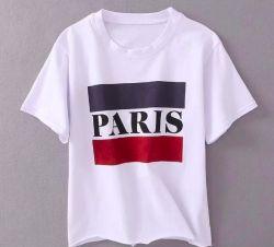 De T-shirt van de Vrouwen van Parijs van af:drukken
