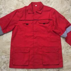 Cappotto e mutanda uniformi di sicurezza del lavoro degli uomini per il luogo di Constructon