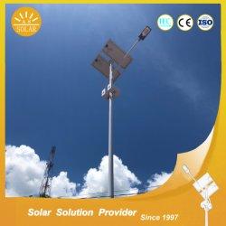 Wasserdichtes, 8 m bis 12 m langes, 60 W, 80 W, Separates Solar-Straßenlicht mit 5 Jahren Garantie