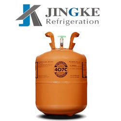 Remplacement de 99,9 % de pureté 22 Gaz réfrigérant R407c, R407 Gaz