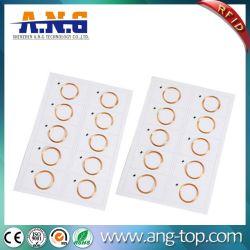 ورقة المعلومات الشخصية RFID بحجم 125 كيلو هرتز A4 2X5PCS Prelam لبطاقة الهوية صنع