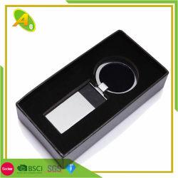 Kundenspezifische Form-Plastiksupermarkt-Münzen-Halter-Schlüsselring (047)