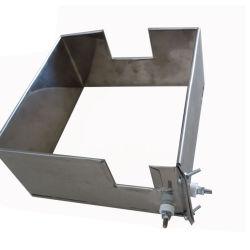 La extrusora calentador de mica de la banda de acero cuadrado de la placa calefactora