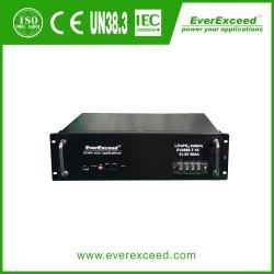Communication de la sauvegarde de station de base 221mm 5G télécommunications Batterie LiFePO4 51.2V 100Ah batterie Lithium-ion