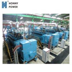 1MW - Proyecto de construcción de 50MW Pesado Gas Diesel Power Plant