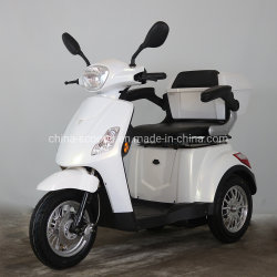 3つの車輪のスクーター、3荷車引き、高齢者達のための電気三輪車