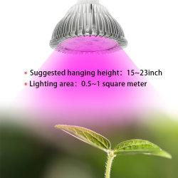 E27 полный спектр светодиодный индикатор роста все лампы на цветы семена овощных растений