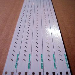 Núcleo de metal de aluminio de 0,6 mm de espesor de PCB PCB 2 Capas chapada a través del agujero (PTH) aplicado luces Inled