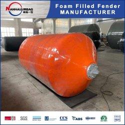 Poliuretano Marine Foam Filled shipboard Defensas y boyas, Bumpers para yates y barcos