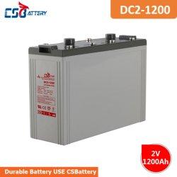 Csbattery 2V 1200ah бесплатное поддержание для свинцово-кислотного аккумулятора светодиодные лампы/Electric-Scooter/Golf-Car/Booster-Pumps/Power-Toys