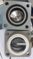 RVS vacuümvlinderklep voor transformatormachines met vierkante ronde plaat Radiateur