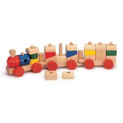 قطار خشبى، ألعاب مركبة خشبية، قطار خشبى للأطفال