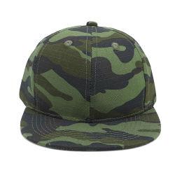 Protezione 100%, cappelli di Snapback del camuffamento del cotone del commercio all'ingrosso di Snapback di Camo