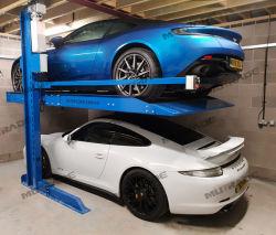 2 niveles de dos puestos de estacionamiento mecánico Levante