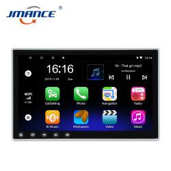범용 10인치 Bluetooth 1 DIN 차량용 DVD 플레이어 스크린 터치 스크린 GPS 라디오 카 비디오