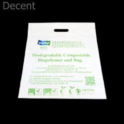 La fabricación del 100% Pbat+PLA+la fécula de maíz verde de resina de personalización de Medio Ambiente bolsas de compras
