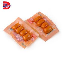 Saco de retorta de alta temperatura 121°-135° Esterilização a alta temperatura Embalagem esticar e a carne de salsicha de Filme Co-Extrusion Bolsa embalagem personalizada