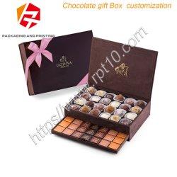 Haut de gamme de la Saint Valentin cadeau personnalisé Boîte de chocolat