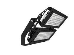 240 Вт, 250 Вт, 600 Вт, 1000 Вт Светодиодные прожектора из черного алюминия прогнозирования светильник для наружного освещения