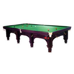 طاولة بلياردو Snooker Pool Delux (KBP-5110) في الخشب الصلب ورخام مع قماش من الدرجة العليا