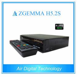 Zgemma H5.2s BCM73625 double filetage 751MHz CPU Linux enigma2 Sat récepteur Twin tuners
