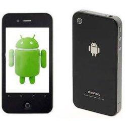 3,5-дюймовый Android 2.2 емкостные две SIM-карты двойной режим ожидания WiFi TV GPS телефона ( H2000)