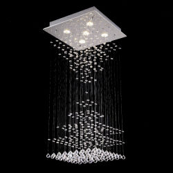Swarovskiの美しい模造水晶ペンダント灯(GD-8017-5)