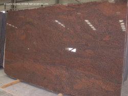 부엌 목욕탕 싱크대 벽 바닥 깔개를 위한 빨간 교향악 화강암이 닦은 아름다운 인도에 의하여 또는 돌 석판 갈거나 타올랐다