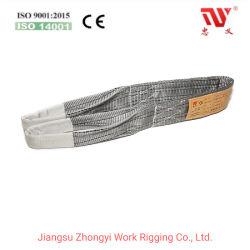 flacher doppeltes Augen-Material-Riemen des Polyester-4t für das Anheben