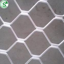Aluminio blanco barato Amplimesh Rejilla recubierto de polvo de exportación