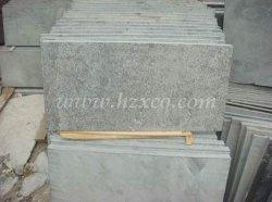 胆ばんのタイル、青い石灰岩の平板、胆ばん、石灰岩