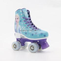 OEM klassieke artistieke Street Quad Roller Skate schoenen bevroren
