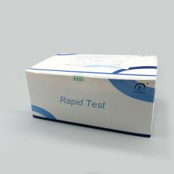 Bfarm Home Test Kit는 Antipboday Rapid Detection ELISA 타액을 사용합니다 테스트