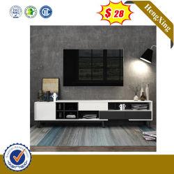 リビングルーム家具、モダンなデザイン、木製のユニット、テレビスタンドが備わっている キャビネットコーヒーテーブル