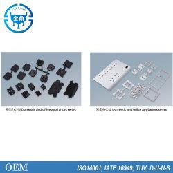 Kundenspezifisches ABS/PP/PC/PE Plastikgehäuse/Bürogerät-Buchse Kabelrinnenspritzgießen
