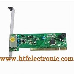 56k de Fax Modem Interno PCI con Chipset Motorola