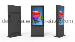 Super Slim 150 mm de 55 pulgadas LCD reproductores de medios de publicidad exterior